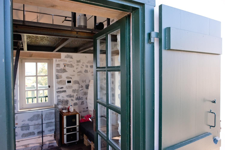 Fenetre type atelier exterieur porte en verre structure - Fenetre style atelier exterieur ...